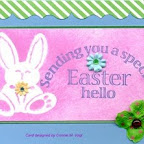 EA0263-F Easter Hello Design by Connie Vogt