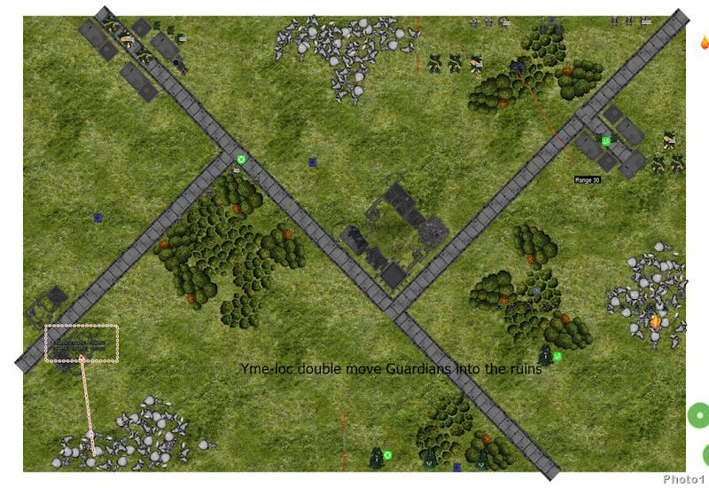 move infratny formation