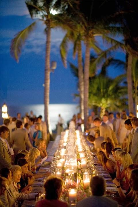 Long Tables Wedding Reception Surprising Elegance Intimacy Key