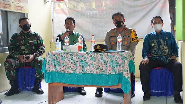 Monev PPKM Mikro, Abdul Hadi-Supiani Datang Langsung ke Desa Tanah Habang Kanan
