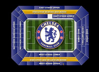 Chelsea FC Stadium Stamford Bridge