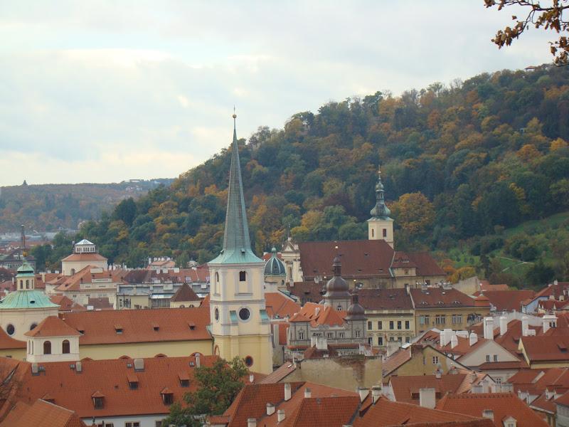 Algunas de las 100 torres de Praga