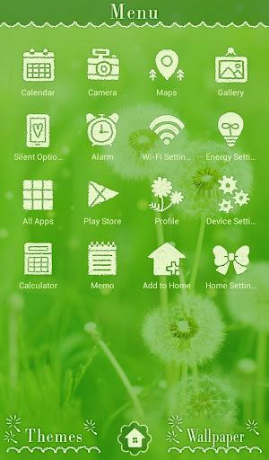 Lovely Wallpaper Dandelion 1.0.0 Windows u7528 2