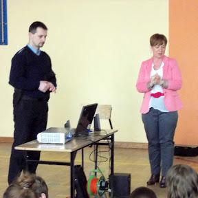 Prelekcja o cyberprzemocy - 13 marca 2013