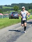 Rüdiger auf der Laufstrecke