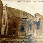 Damaged Church in Zeebrugge