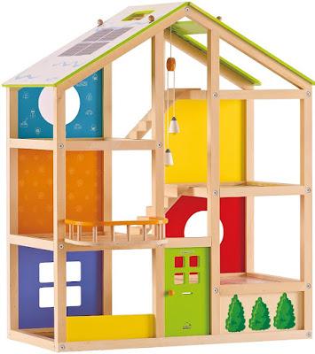 Ngôi nhà 4 mùa bằng gỗ Hape All Season House