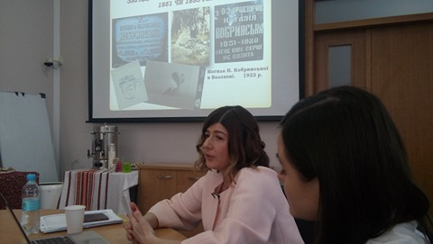 Відкрита лекція Алли Швець в Українському католицькому університеті