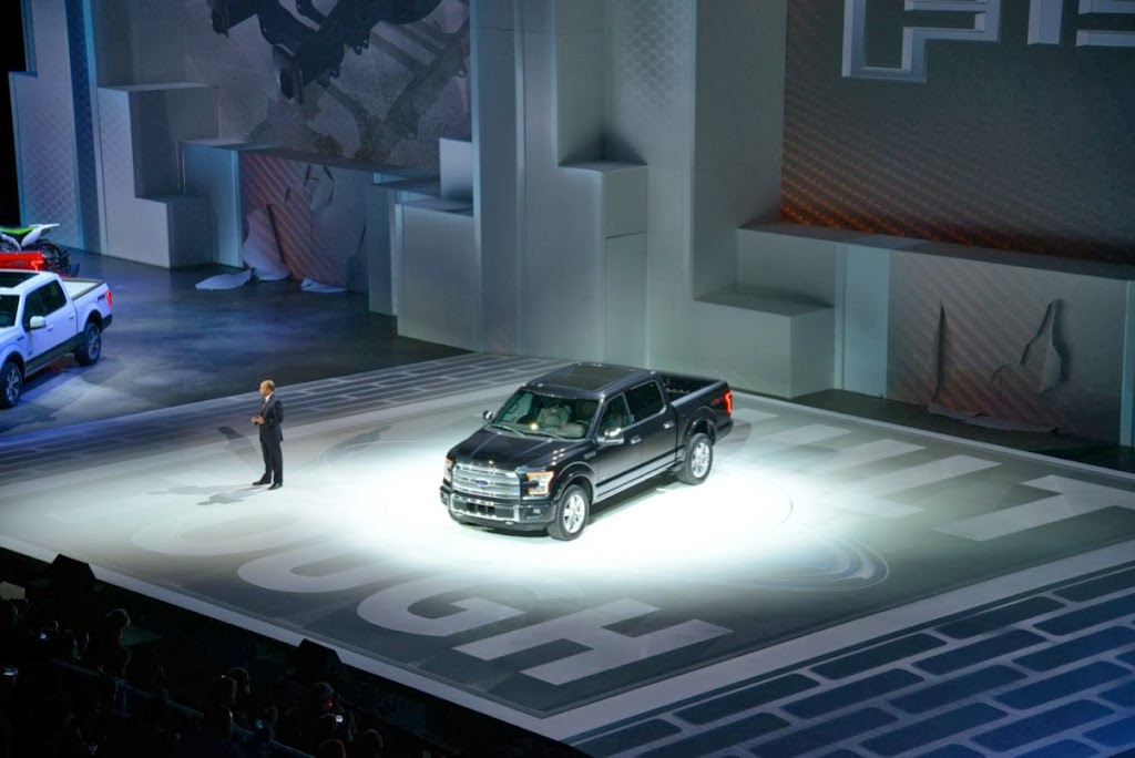 2015 Ford F-150 Unveiling NAIAS 11