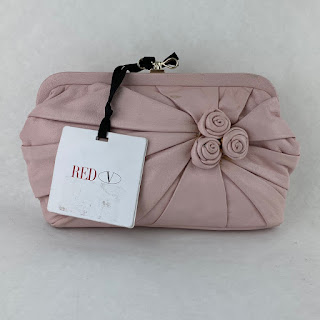 Valentino Pink Snap Top Pouch
