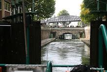 Canal Saint-Martin - Bassin de la Villette : écluse