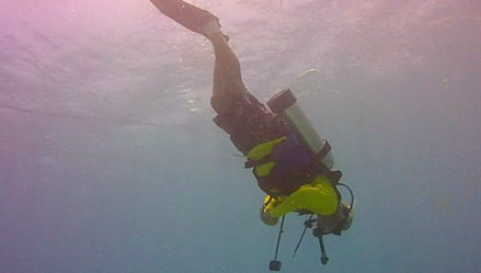 Diving at Looe Key Reef'