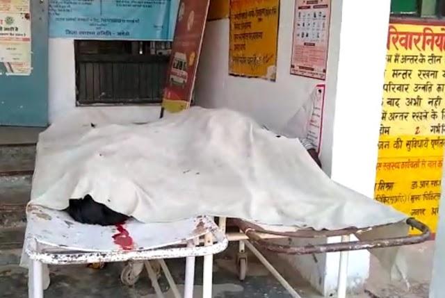लखनऊ-वाराणसी NH पर प्याज लादकर जा रही डीसीएम अज्ञात वाहन में घुसी, ड्राइवर-क्लीनर की मौके पर दर्दनाक मौत