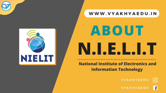 NIELIT : National Institute of Electronics and Information Technology