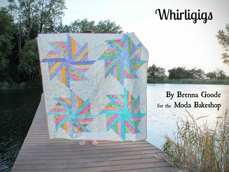Whirligigs quilt from the Moda Bake Shop