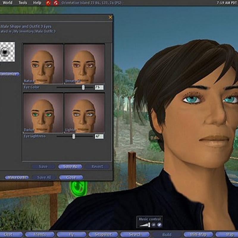 Guía completa de Second Life, juego multijugador online (1a parte).