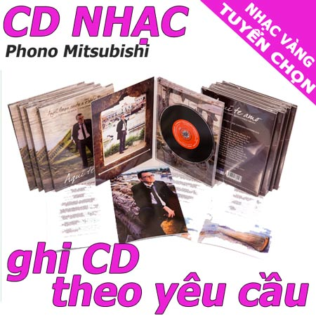 ghi cd nhac vang chat luong cao