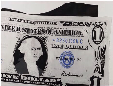 Warhol Dollar Bill