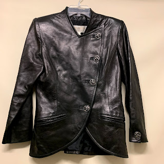 Nina Ricci Vintage Leather Blazer
