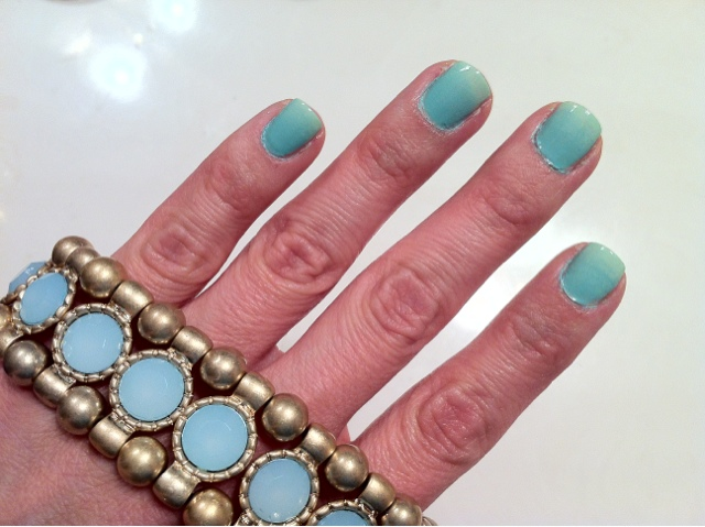 Cupcake Mommy Life Mint Ombr Nails Step By Step Tutorial