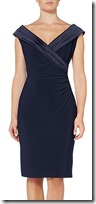 Lauren Ralph Lauren dark navy cocktail dress