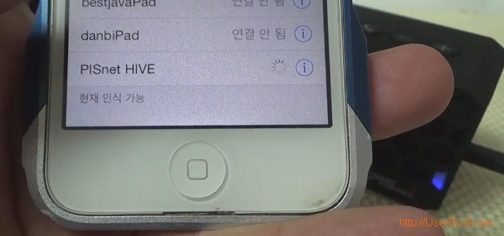 pISnet HIVE 블루투스 스피커 스마트폰과 페어링 하는 방법