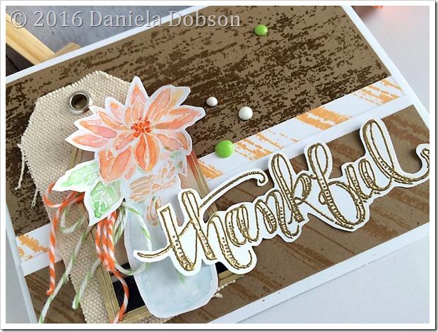 Thankful close by Daniela Dobson