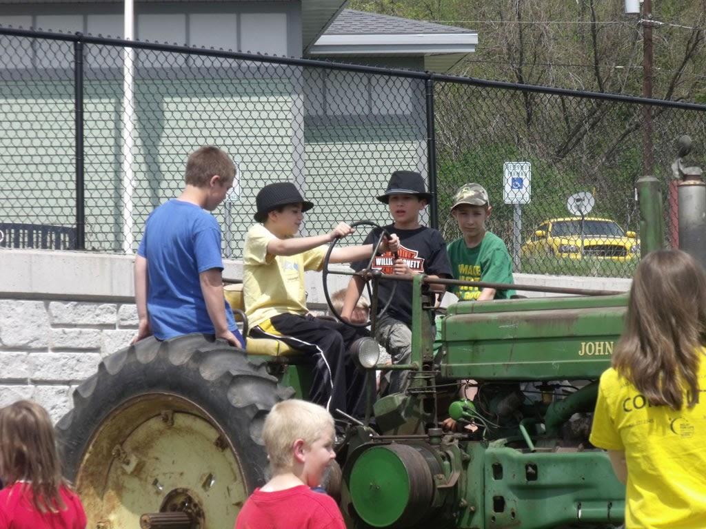 Mellen Tractor Show May 11, 2012