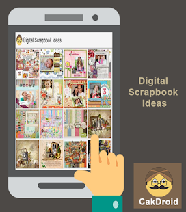 Nápad na digitální scrapbook - náhled