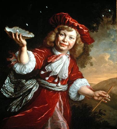 Bartholomeus van der Helst - A Boy Blowing Bubbles