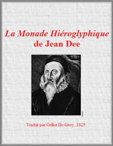 Cover of John Dee's Book The Hieroglyphic Monad French Version