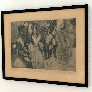 Georges Lambert Signed Etching