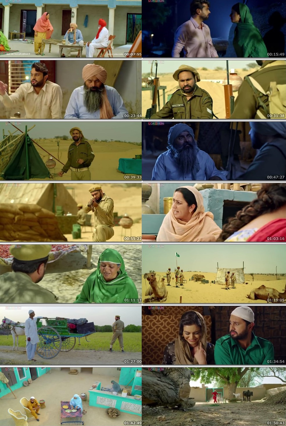 Screen Shot Of Ranjha Refugee 2018 Full Movie Free Download FHD 1080P Watch Online