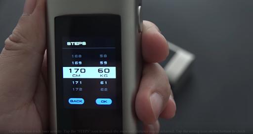 STEPS thumb%25255B2%25255D.png - 【MOD】「JOYETECH OCULAR CタッチパネルMOD」レビュー。音楽プレイヤー搭載のVAPEデバイス!【デュアルスタック/ガジェット感】