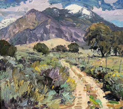 """""""Road To Taos Mountain"""""""