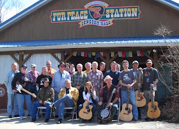 Students and instructors at the Fur Peace Ranch Station.