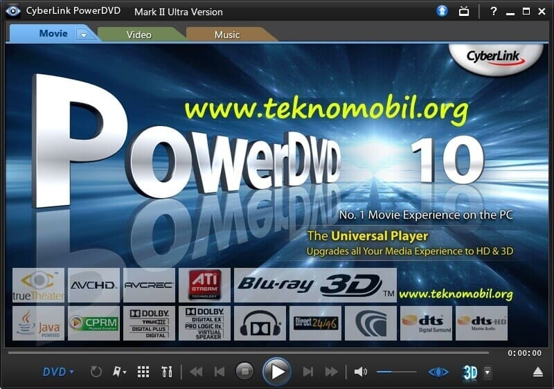 CyberLink PowerDVD Ultra v17.0.2406.62 Full İndir