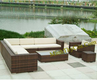 Rattan Sofa Set-MT133