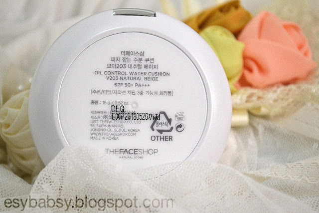 the-face-shop-oil-control-water-cushion-natural-beige-v203-review-esybabsy