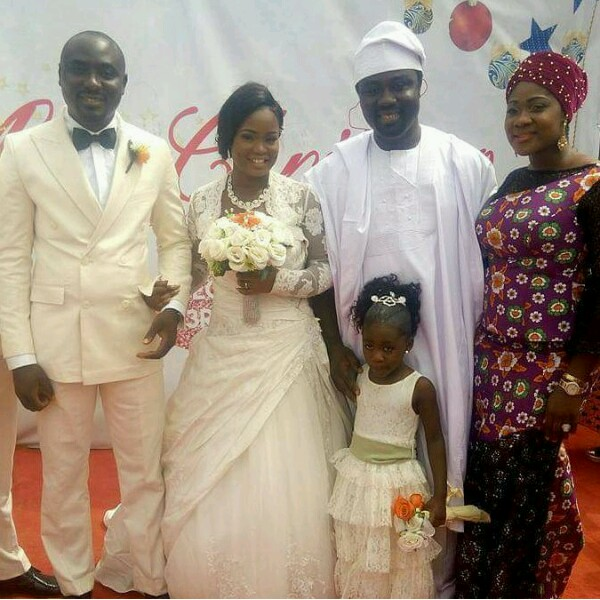 Mercy Johnson, Husband, Odianose Okojie & Daughter, Purity