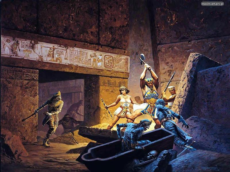 Heavenly Magian, Egyptian Magic