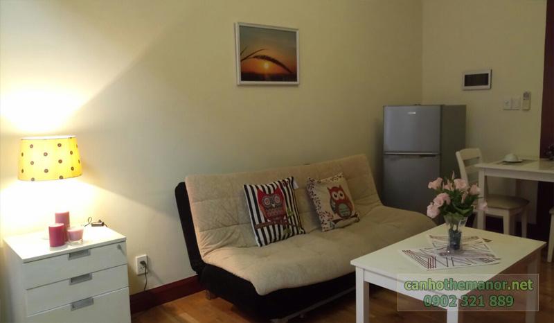 cho thue studio the manor sofa căn hộ 38m2