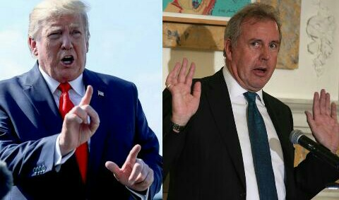 You are a very stupid guy - Trump Calls UK Ambassador (See why)