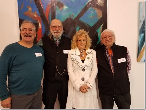 20181207_211557  ACL Gallery 12.7.18 Larry Sohn, Hugh Mahon,  Melinda Diaz,Chas Palmintieri