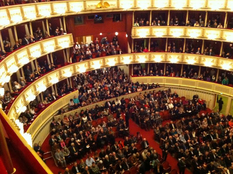 ópera de viena interior
