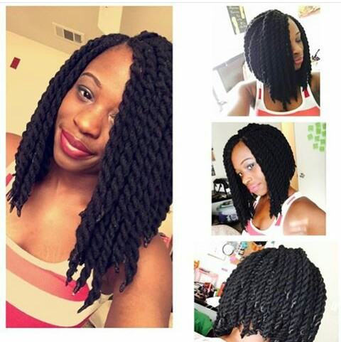 The Glam Life: AFRICAN HAIRSTYLE (CROCHET BRAIDS)