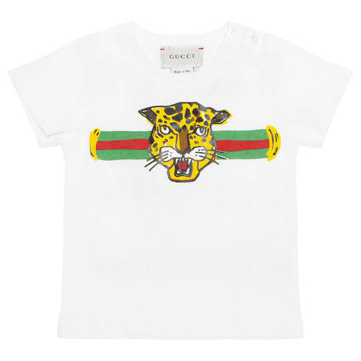 Primary image of Gucci Baby Boy Leopard T-shirt