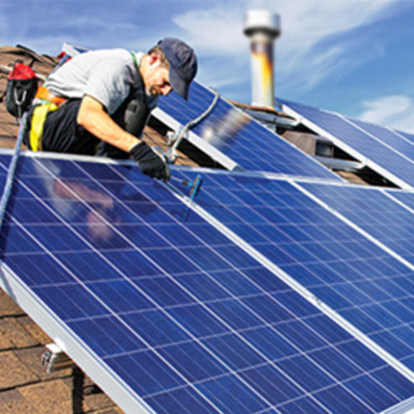 Solar Panel System - EcoSun Homes