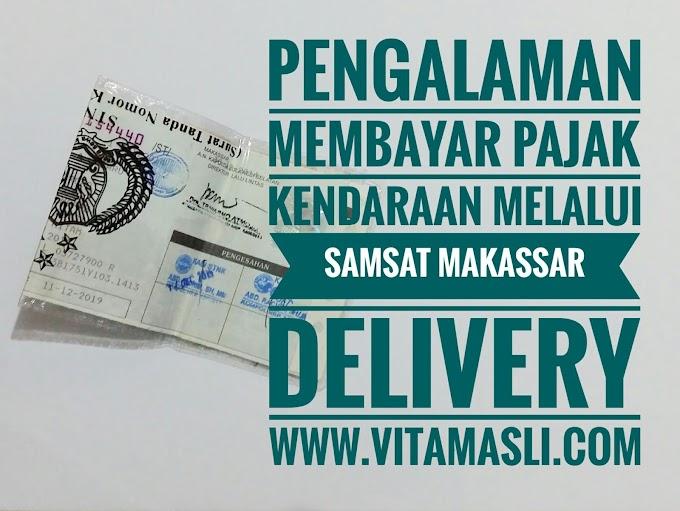 Pengalaman Membayar Pajak Kendaraan Melalui Samsat Delivery Makassar