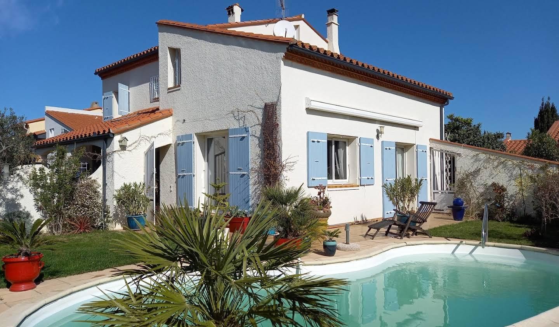 Maison avec piscine Canohès